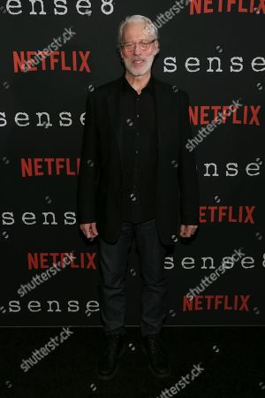 "Actor Terrence Mann attends the Netflix ""Sense8"" Season 2 premiere at AMC Loews Lincoln Square, in New York"