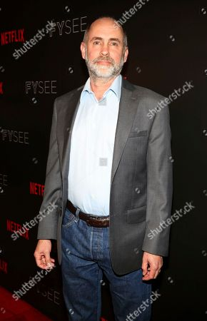 Victor Fresco seen at the Netflix Comedy FYSee panel Q&A at the FYSee exhibit space, in Los Angeles