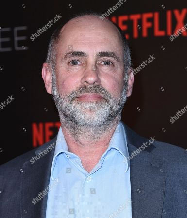 Victor Fresco, creator and executive producer, arrives at the Netflix Comedy Panel For Your Consideration Event at the Netflix FYSee Space, in Beverly Hills, Calif