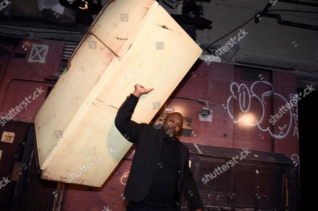 Cheo Hodari Coker seen at Netflix FYSee Kickoff Event, an experiential exhibition space, bringing the best of Netflix series to life for industry and guild members leading into Emmy voting season,, in Beverly Hills, Calif