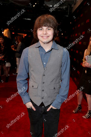 Brendan Meyer seen at Netflix FYSee Kickoff Event, an experiential exhibition space, bringing the best of Netflix series to life for industry and guild members leading into Emmy voting season,, in Beverly Hills, Calif
