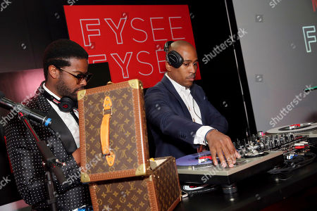 Adrian Younge and Ali Shaheed Muhammad seen at Netflix FYSee Kickoff Event, an experiential exhibition space, bringing the best of Netflix series to life for industry and guild members leading into Emmy voting season,, in Beverly Hills, Calif