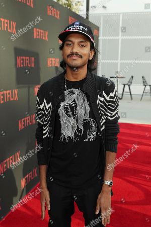"Stock Photo of Aniz Ansari seen at Netflix original series ""Master of None"" ATAS panel at the Wolf Theater at Saban Media Center, in Los Angeles, CA"