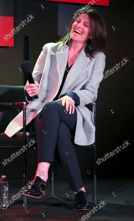 """Stock Image of Director Pamela Fryman seen at the Netflix original series """"One Day at a Time"""" FYC Panel at the FYSee exhibit space, in Los Angeles"""