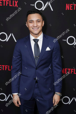 Brandon Perea seen at Netflix original series 'The AO' Special Screening on in Los Angeles, CA