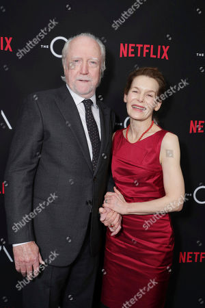Scott Wilson and Alice Krige seen at Netflix original series 'The AO' Special Screening on in Los Angeles, CA