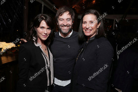 "Stock Photo of Katie Aselton, Mark Duplass and Mimi Rogers seen at Netflix's original documentary ""13TH"" reception hosted by Netflix Chief Content Officer Ted Sarandos and Ambassador Nicole Avant with a special conversation moderated by Oprah Winfrey with director Ava DuVernay and Van Jones], in Los Angeles, CA"