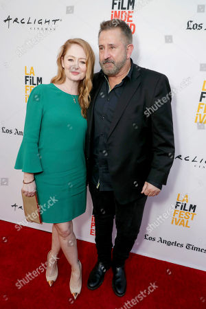 """Miranda Otto and Anthony LaPaglia seen at New Line Cinema """"Annabelle: Creation"""" Special Advance Screening at the LA Film Festival at Ace Hotel Downtown Los Angeles, in Los Angeles"""