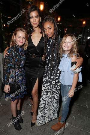 """Talitha Bateman, Stephanie Sigman, Tayler Buck and Lulu Wilson seen at New Line Cinema """"Annabelle: Creation"""" Special Advance Screening at the LA Film Festival at Ace Hotel Downtown Los Angeles, in Los Angeles"""