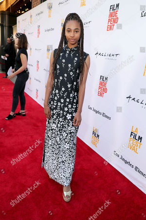 """Tayler Buck seen at New Line Cinema """"Annabelle: Creation"""" Special Advance Screening at the LA Film Festival at Ace Hotel Downtown Los Angeles, in Los Angeles"""