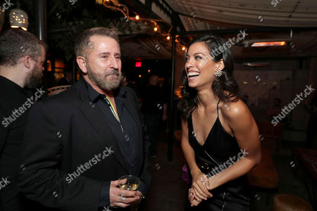 """Anthony LaPaglia and Stephanie Sigman seen at New Line Cinema """"Annabelle: Creation"""" Special Advance Screening at the LA Film Festival at Ace Hotel Downtown Los Angeles, in Los Angeles"""