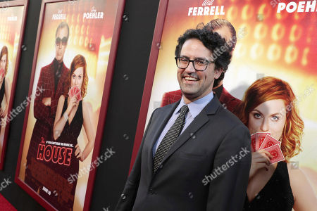 "Director/Writer/Producer Andrew Jay Cohen seen at New Line Cinema Presents ""The House"" Los Angeles Premiere at TCL Chinese Theatre, in Hollywood, CA"