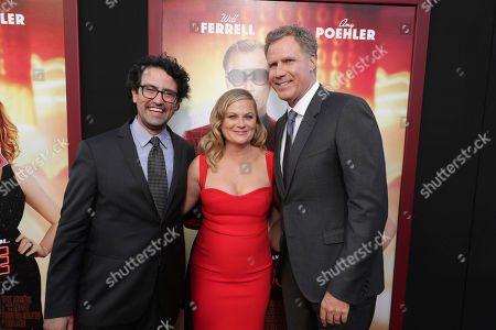 "Director/Writer/Producer Andrew Jay Cohen, Amy Poehler and Producer/Actor Will Ferrell seen at New Line Cinema Presents ""The House"" Los Angeles Premiere at TCL Chinese Theatre, in Hollywood, CA"