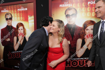 "Director/Writer/Producer Andrew Jay Cohen and Amy Poehler seen at New Line Cinema Presents ""The House"" Los Angeles Premiere at TCL Chinese Theatre, in Hollywood, CA"