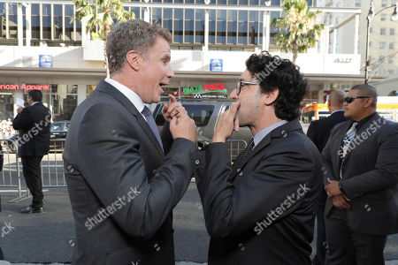 "Stock Image of Producer/Actor Will Ferrell and Director/Writer/Producer Andrew Jay Cohen seen at New Line Cinema Presents ""The House"" Los Angeles Premiere at TCL Chinese Theatre, in Hollywood, CA"