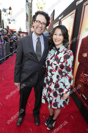 "Director/Writer/Producer Andrew Jay Cohen and Crystal Li seen at New Line Cinema Presents ""The House"" Los Angeles Premiere at TCL Chinese Theatre, in Hollywood, CA"