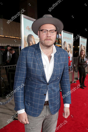"""Composer Dominic Lewis seen at New Line Cinema Presents the World Premiere of """"Fist Fight"""" at Regency Village Theatre, in Los Angeles"""