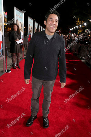 """Oscar Nunez seen at New Line Cinema Presents the World Premiere of """"Fist Fight"""" at Regency Village Theatre, in Los Angeles"""