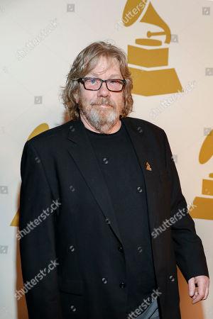 David Ferguson arrives at the nominee party for the 59th Annual Grammy Awards at Loews Vanderbilt Hotel, in Nashville, Tenn