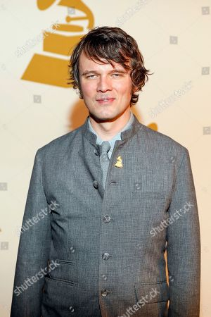 Stock Photo of Luther Dickinson arrives at the nominee party for the 59th Annual Grammy Awards at Loews Vanderbilt Hotel, in Nashville, Tenn