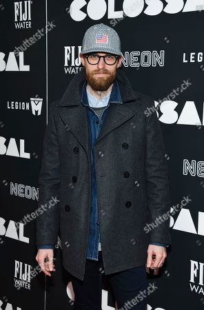 """Adam David Thompson attends the premiere of """"Colossal"""" at AMC Loews Lincoln Square on Tuesday, March, 28, 2017, in New York"""