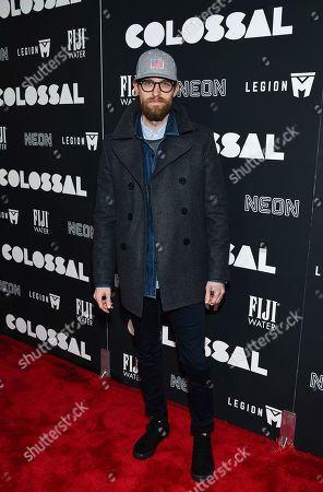 "Adam David Thompson attends the premiere of ""Colossal"" at AMC Loews Lincoln Square on Tuesday, March, 28, 2017, in New York"
