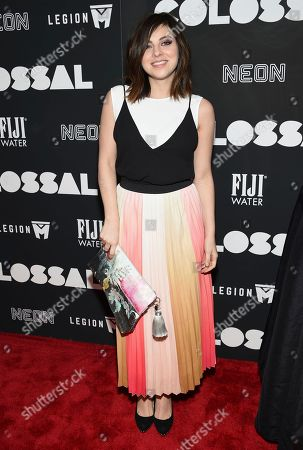 "Krysta Rodriguez attends the premiere of ""Colossal"" at AMC Loews Lincoln Square on Tuesday, March, 28, 2017, in New York"