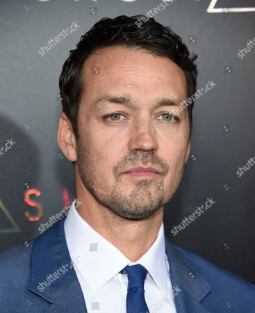 "Stock Photo of Director Rupert Sanders attends the premiere of ""Ghost in the Shell"" at AMC Loews Lincoln Square, in New York"