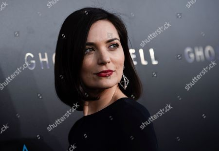 """Actress Jules Willcox attends the premiere of """"Ghost in the Shell"""" at AMC Loews Lincoln Square, in New York"""