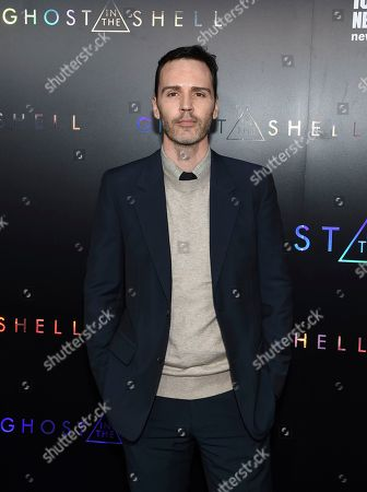 """Stock Photo of Screenwriter Jamie Moss attends the premiere of """"Ghost in the Shell"""" at AMC Loews Lincoln Square, in New York"""