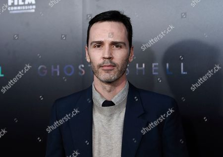 """Stock Picture of Screenwriter Jamie Moss attends the premiere of """"Ghost in the Shell"""" at AMC Loews Lincoln Square, in New York"""
