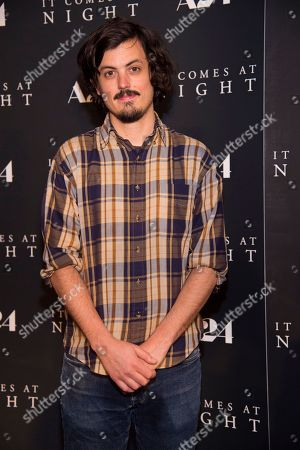 """Stock Picture of Actor Keith Poulson attends the premiere of """"It Comes at Night"""" at Metrograph, in New York"""