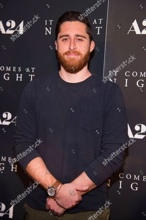 "Director Trey Edwards Shults attends the premiere of ""It Comes at Night"" at Metrograph, in New York"