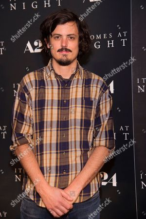 """Actor Keith Poulson attends the premiere of """"It Comes at Night"""" at Metrograph, in New York"""