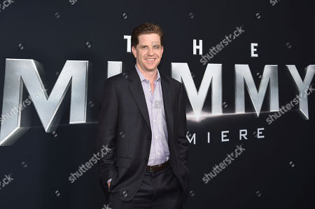 """Stock Picture of Writer Dylan Kussman attends a special screening of """"The Mummy"""" at AMC Loews Lincoln Square, in New York"""