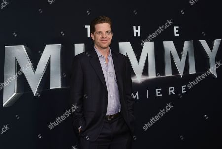 """Stock Photo of Writer Dylan Kussman attends a special screening of """"The Mummy"""" at AMC Loews Lincoln Square, in New York"""