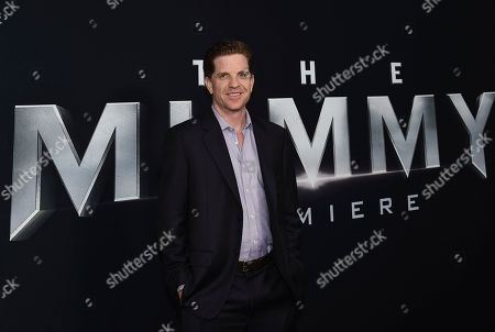 """Stock Image of Writer Dylan Kussman attends a special screening of """"The Mummy"""" at AMC Loews Lincoln Square, in New York"""