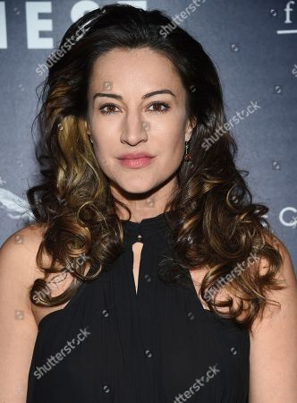 "America Olivo attends the premiere of ""Their Finest"" at the SVA Theatre, in New York"