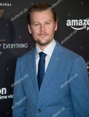 """David Hoflin attends the premiere of Amazon's new series """"Z: The Beginning of Everything"""" at the SVA Theatre, in New York"""