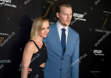 """Christina Ricci and David Hoflin attend the premiere of Amazon's new series """"Z: The Beginning of Everything"""" at the SVA Theatre, in New York"""