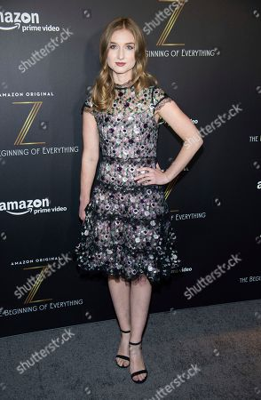 """Sarah Schenkkan attends the premiere of Amazon's new series """"Z: The Beginning of Everything"""" at the SVA Theatre, in New York"""
