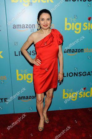 "Stock Picture of Zenobia Shroff attends the premiere of Amazon Studios' ""The Big Sick"" at Landmark Sunshine Cinema, in New York"