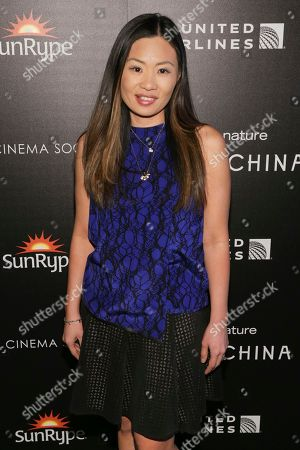 Jewelry designer Alex Woo attends the premiere for Disneynature's 'Born in China' at the Landmark Sunshine Cinema, in New York