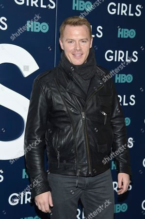 "Actor Diego Klattenhoff attends the premiere of HBO's ""Girls"" sixth and final season at Alice Tully Hall, in New York"