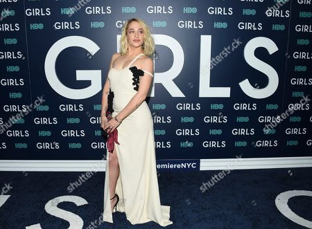 "Actress Jemima Kirke attends the premiere of HBO's ""Girls"" sixth and final season at Alice Tully Hall, in New York"