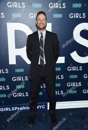 """Jon Glaser attends the premiere of HBO's """"Girls"""" sixth and final season at Alice Tully Hall, in New York"""
