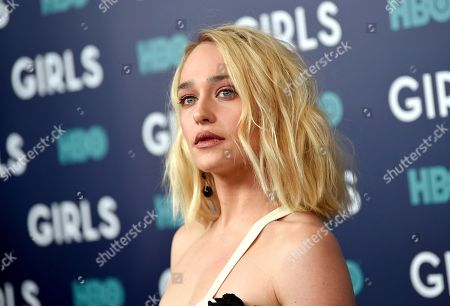 """Actress Jemima Kirke attends the premiere of HBO's """"Girls"""" sixth and final season at Alice Tully Hall, in New York"""