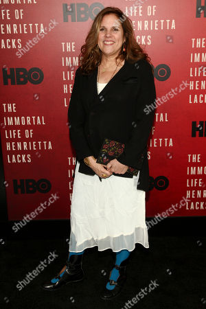 """Lydia Dean Pilcher attends the premiere of HBO Films' """"The Immortal Life of Henrietta Lacks"""" at the SVA Theatre, in New York"""
