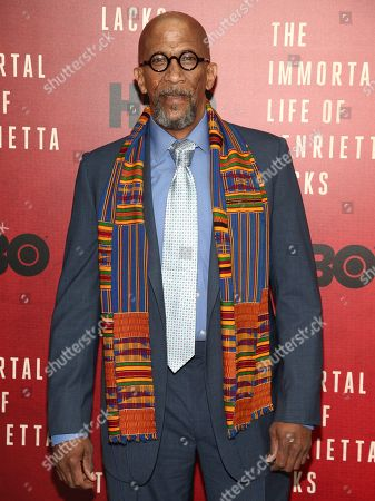 """Reg E. Cathey attends the premiere of HBO Films' """"The Immortal Life of Henrietta Lacks"""" at the SVA Theatre, in New York"""