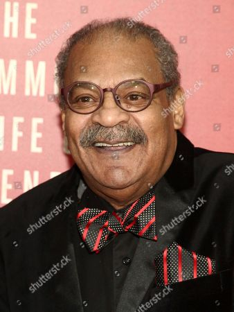"""Stock Picture of Roger Robinson attends the premiere of HBO Films' """"The Immortal Life of Henrietta Lacks"""" at the SVA Theatre, in New York"""
